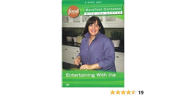 Amazon Com Barefoot Contessa With Ina Garten Entertaining With Ina Ina Garten N A Movies Tv