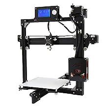 SainSmart S2 Plus Desktop 3D Printer DIY Kit w/SD-Card Reader/USB 2.0/ Cable/LCD Display Prusa i3 High Accuracy CNC Black US Plug