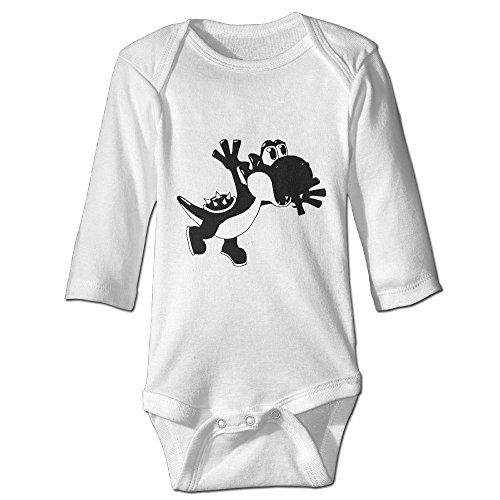 Babycu Baby's Yoshi By Dream Happy Hanging Bodysuit Romper Playsuit Outfits Clothes Climbing Clothes Long (Yoshi Custome)