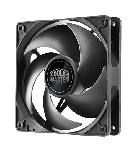 Silencio FP120 PWM 2400, 120mm cooling fan, Whisper-Quiet Cooling Performance (R4-SFNL-24PK-R1) (Cooler Master Silencio Case compare prices)