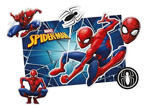 Kit Decoracao R319 Spider Man Animacao, Regina, Colorido