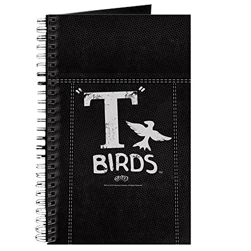 CafePress Grease - T-Birds Jacket Spiral Bound Journal Notebook, Personal Diary, - Jacket T-bird Grease Dannys