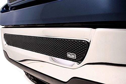 Lower Mesh Grille (GrillCraft FOR1309B MX Series Black Lower 1pc Mesh Grill Grille Insert for Ford F150)