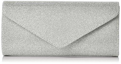 Argent Shimmer Wallis Silver Envelope Pochettes gzgwaq8
