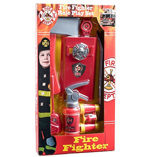 Dressup America Halloween Fire Fighter Role Play Kit