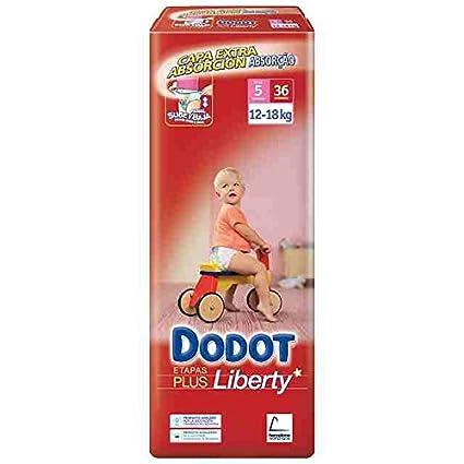 Dodot - Pañales Dodot Liberty Plus T5 36 uds