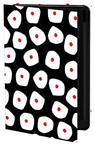 Keka UK Alik Arzoumanian Classic - Funda rígida para iPhone 4 y 4s, diseño India Bound Dots