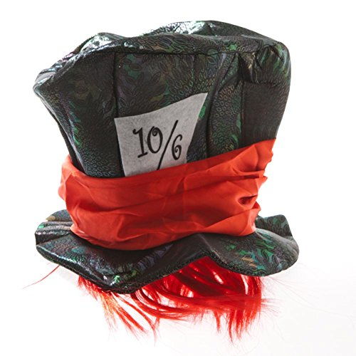 alice wonderland mad hatter hat