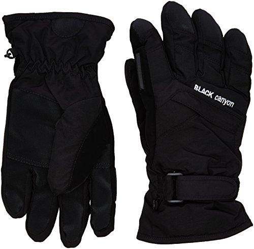 Black Canyon Uni Skihandschuhe, schwarz, 8, BC3432