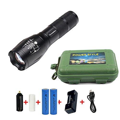 Xenon Tactical Flashlight Torch - 6