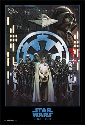 Trends International Wall Poster Star Wars Rogue One Empire, 22.375 x 34