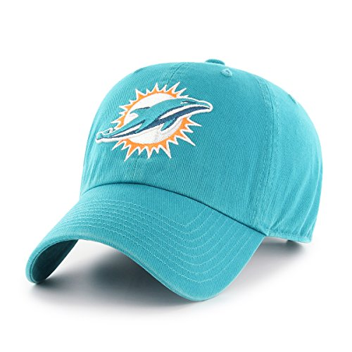 Nfl Miami Dolphins Hat (NFL Miami Dolphins OTS Challenger Adjustable Hat, Neptune, One Size)