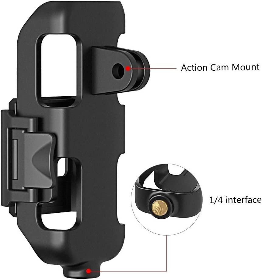 XIAOMIN Housing Shell Protective Cover Bracket Frame for DJI OSMO Pocket Premium Material