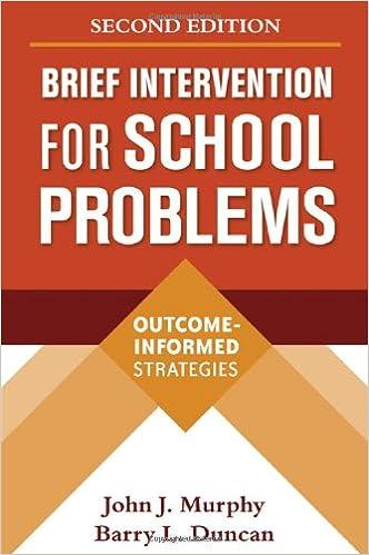Télécharger des ebooks gratuits italiano Brief Intervention for School Problems, Second Edition: Outcome-Informed Strategies (Guilford School Practitioner) en français ePub by John J. Murphy,Barry L. Duncan