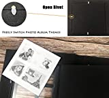 RECUTMS Photos Book Album 4×6 Hold 500 Pockets