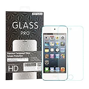 [Life Replacement Warranty] iPod Touch / iTouch 5 6 Tempered Glass Screen Protector, Abestbox® Apple iTouch5 / iTouch6 9H Premium Tempered Glass 0.26mm HD Screen Protector