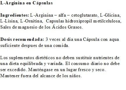 L-Arginina de Robert Franz - 180 Cápsulas: Amazon.es: Salud y cuidado personal