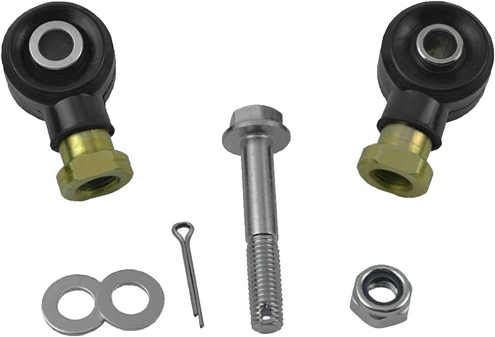 ORETG45 Tie d End Kit de roulements de connexion en m/étal durable avec boulon int/érieur ext/érieur accessoires ATV joints /à rotule droite gauche pour Polaris Sportsman
