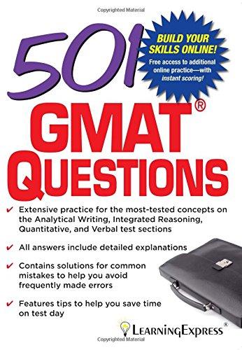 501 GMAT Questions