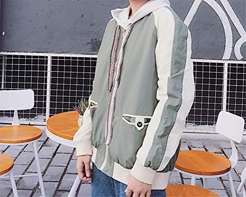 V Huixin College Young Automne Styles Boyfriend Bouffant Manches Manteau Blouson Femmes Longues Blouson Outdoor paTrOpn