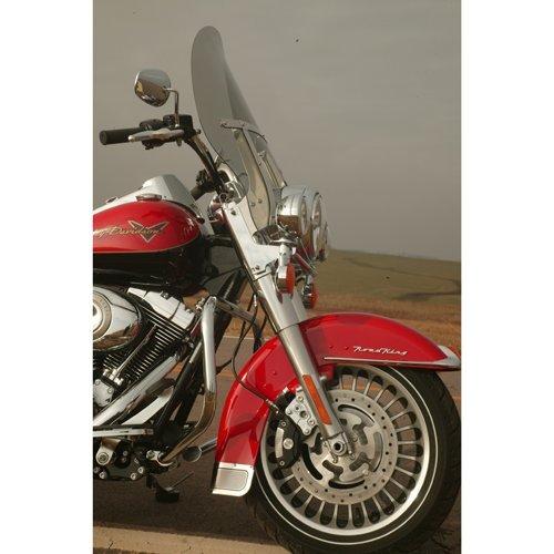 Klock Werks Harley (Klock Werks #KW05-01-0219 18 Tint Billboard Flare Windshield For Harley-Davidson Road King Models With H Bracket)