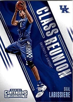 2016-17 Panini Contenders Draft Picks Basketball Class Reunion #10 Skal Labissiere Kentucky