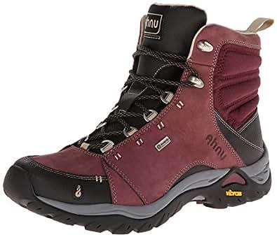 Ahnu Women's Montara Hiking Boot,Red Mahogany,6 M US