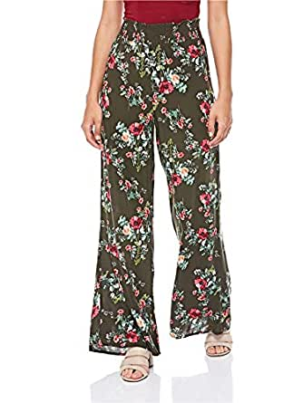 Stradivarius-4551/122/550-Women's-PANT-GREEN-S