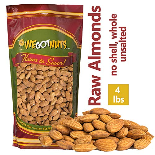We Got Nuts Jumbo Almonds (Whole, Raw,