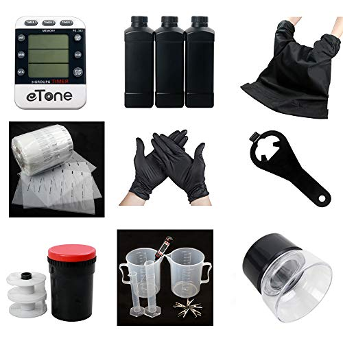 Darkroom Developing Equipment Kit Film Processing 120 135 35mm Color B&W Film