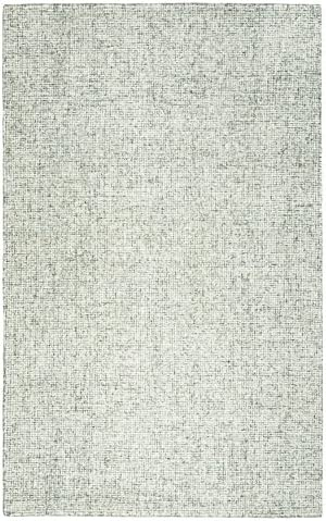 Rizzy Home Brindleton Collection Wool Area Rug, 12 x 15 , Green Gray Rust Blue Solid