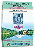 Natural Balance Small Breed Bites L.I.D. Limited Ingredient Diets Dry Dog Food - Grain Free - Chicken & Sweet Potato Formula - 12-Pound