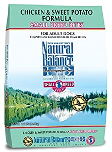 Natural Balance Small Breed Bites Limited Ingredient Diets Chicken & Sweet Potato Formula Dry Dog Food, 12 lb