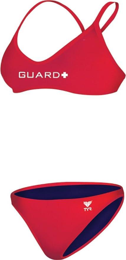 TYR Guard Durafast Ringback Workout Bikini Swimsuit Womens