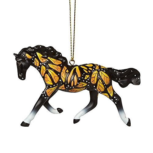 Enesco Trail of Painted Ponies Butterflies Run Free Ornament, 2.25