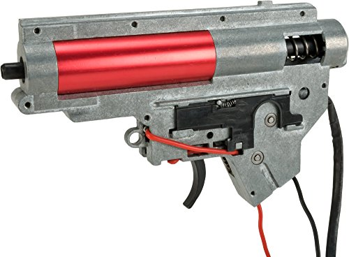 Evike S&T Complete Full Metal Lipo Ready Gearbox for S&T/Dytac M4 Sportline Series Airsoft AEG Rifles - (Multiple Platform ()