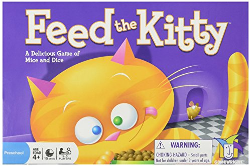 Gamewright 5510 Feed The Kitty