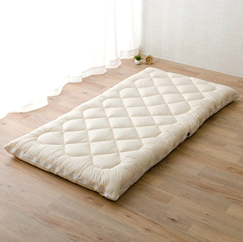 Amazon.com: EMOOR Washable Futon Mattress (Shikibuton)   Twin Size. Made In  Japan: Kitchen U0026 Dining