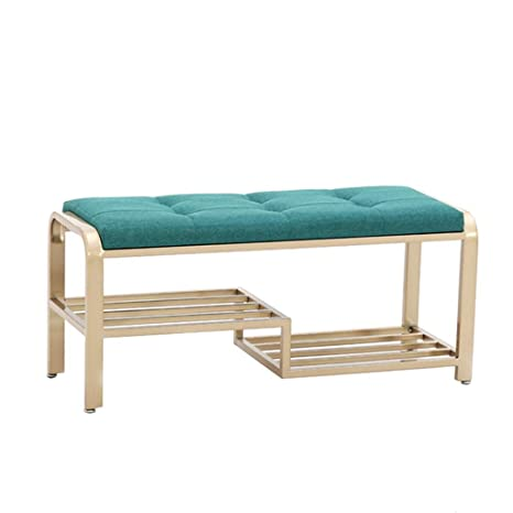 Sensational Amazon Com Qiqi Life Nordic Shoes Bench Upholstered Ocoug Best Dining Table And Chair Ideas Images Ocougorg