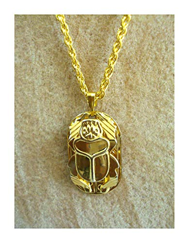 (bonballoon Scarab Beetle Hand Carved Necklace Pendanat Egyptian Jewelry Charm 102)