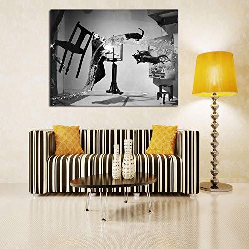 WJY Salvador Dali Uli Hesse Is Pinterest Lienzo Pintura Imprimir Sala de Estar Decoracion para el hogar Moderno Arte de la Pared Pintura al oleo Poster Pictures 60cm x90cm No Frame