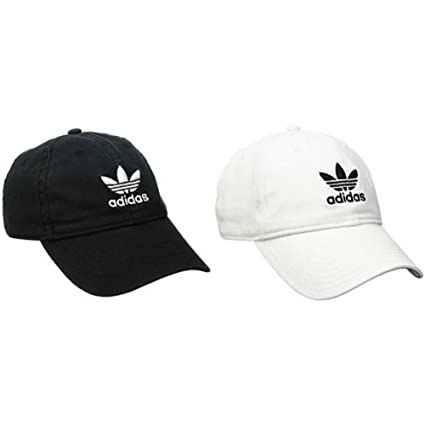 Amazon.com  Adidas Men s Originals Relaxed 2 pack - Black White ... 4d561d616b7