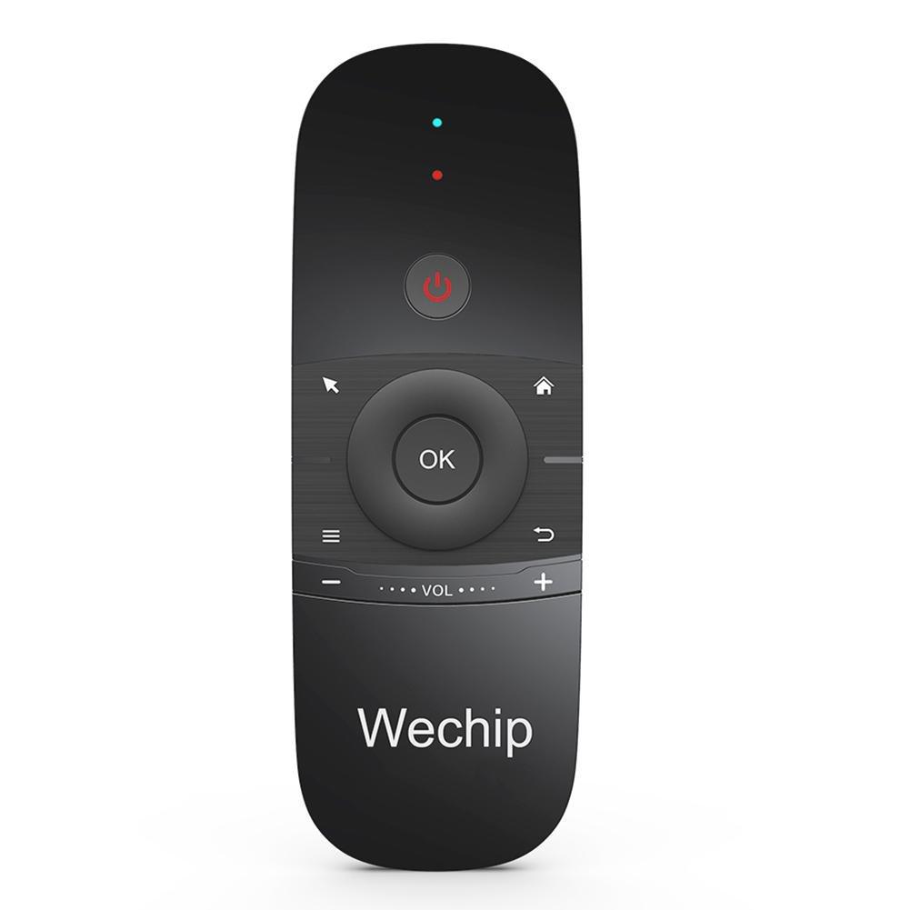 Mini Teclado, Smart TV Wireless Keyboard Fly Mouse W1 Control Remoto Multifuncional para Android TV Box/PC / Smart TV/Projector / HTPC/PC / TV Todo en uno: ...