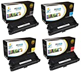 Catch Supplies 508A 4-Pack Premium Replacement Toner Cartridge Compatible with HP Color LaserJet M552 M553n M553dn, MFP M577f M577dn Printers  Black CF360A, Cyan CF361A, Yellow CF362A, Magenta CF363A 