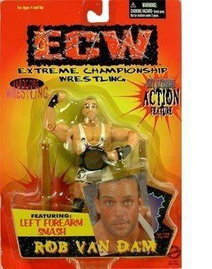 ECW Extreme Championship Wrestling Series 1 Rob Van Dam Action Figure by ECW by ECW