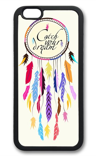 Coque silicone BUMPER souple IPHONE 6 - Dream catcher Attapre-rve capteur motif 1 DESIGN case+ Film de protection OFFERT