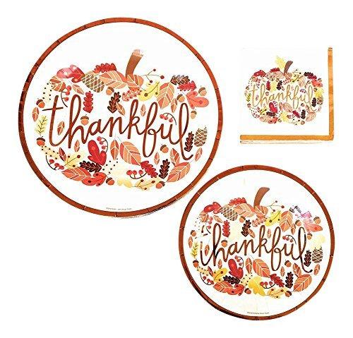 Review Thankful Thanksgiving Dinnerware Bundle