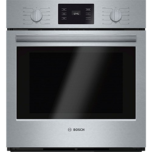 Bosch HBN5451UC 500 27″ Stainless Steel Electric Single Wall Oven – Convection