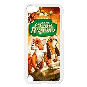 iPod Touch 5 Case White Fox and the Hound Custom DSAMKAVDH5191