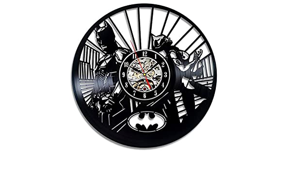 Amazon.com: Batman and Batwoman Vinyl Record Wall Clock ...